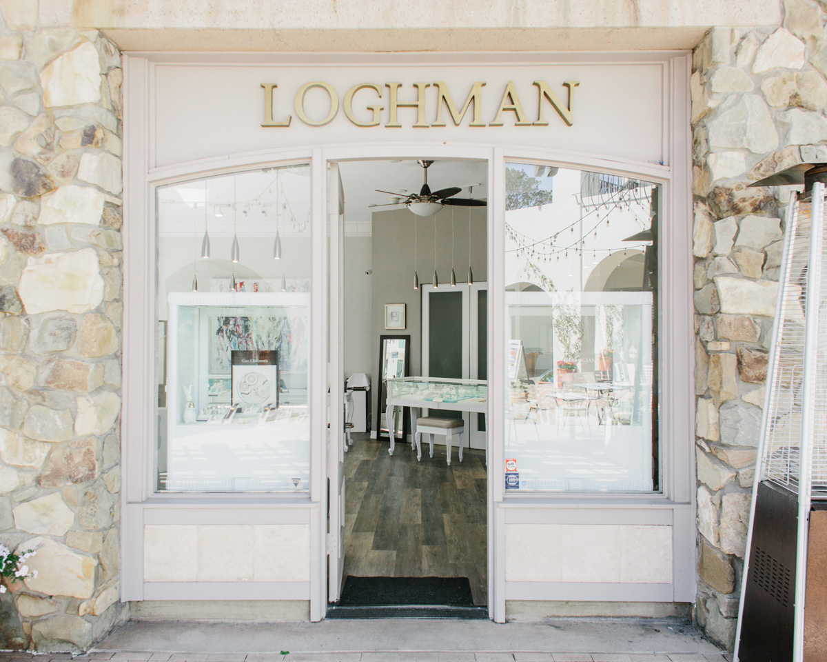 Loghman open door retail jewelry store