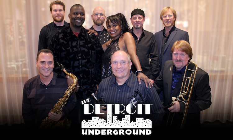 Detroit Underground band members smiling at the camera
